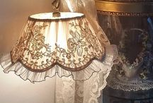 Shabby Chic Lampshades & Light Shades & Chandleir