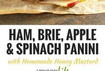 Panini and sandwiches