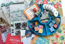 Homemade (DIY) Scrapbooking Kit