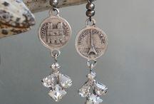 orecchini e gioielli vintage