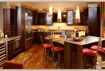 Urban Penthouse - Showplace Cabinets / Milan and Galena Door Styles