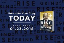 Rise and Grind - by Daymond John / Rise and Grind is a new book by Daymond John, from ABC's hit show Shark Tank. It comes out Jan 23!  Get your copy on Amazon - bit.ly/RiseandGrind1