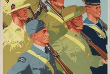 WW2 Posters / Posters produced during the Second World War, from Great Britain, New Zealand, Australia, and the United States. This selection is a small representation of War posters housed in the Documentary Heritage collection at the Auckland Museum.
