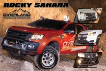 Rocky SAHARA / Protect your favorite car with the new  front bumper design, light weight but strength, ideal for wilderness uphill to the creek style, sportier and unique designs for actually works, good welding, seamless pipe bending.  It's made of high quality steel, spray with powder coating for smooth and long lasting.