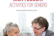 montessori senior activities