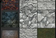 Game Sculpted Textures / Clay / Normalmaps