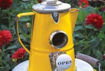 Coffee Pots repurposed