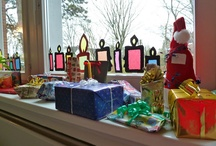 julelys - deco til vindue