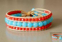 meet.11 / boho leather wrap bracelets