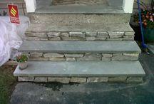 front stoop