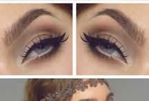 Romantic and Free-Style Makeup and Hair neat looks