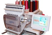 HAPPY commercial embroidery machines / Single-head and multi-head commercial embroidery machines from HAPPY Japan