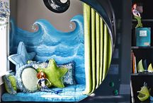 Mermaid Bedroom / Ideas for monkey's mermaid bedroom make over. / by Ashley Phillips