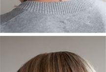 Hair, nails, eyes