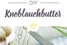 Knoblauch butter