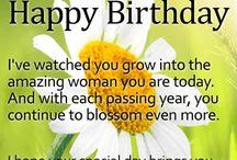 Felicitări de la mulți ani
