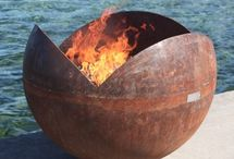 Firebowls and fireplaces
