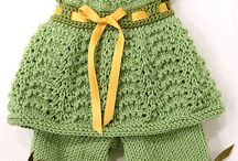 Vauva neuleet/Baby Clothes