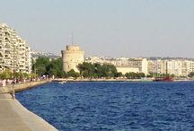 My favorite city - Thessaloniki / My beautiful Thessaloniki, my birth town and city of my youth. I´ll always love u!