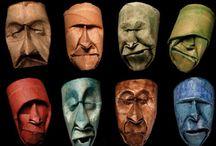 masks / masks designs from around the world