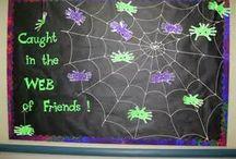 Halloween Theme Bulletin Boards