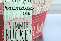 De bucketlist / Dingen die ik nog allemaal wil doen