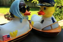 Rubba Ducks at the BOATHOUSE Giveaway! / Rubba Ducks are Flocking into the BOATHOUSE in Disney Springs at Walt Disney World Resort! Win one of the adorably cute and run ducks for your very own!