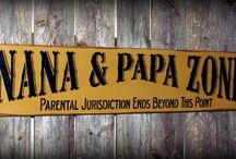 Nana & Papa / by Theresa Langston Leyser