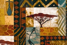african square pattern art designs