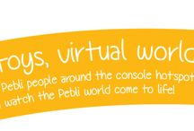 Pebli Town / Pebli Town is the new interactive connected toy from ToysAlive. Bring physical toys to life! Real Toys, Virtual World.