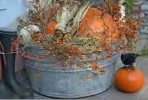 Autumn Decorating / Natural-themed home decoration ideas.