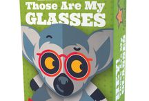 Hey! Those Are My Glasses / Hey! Those Are My Glasses is a matching card game for children ages 4+. Available Spring 17 from The Haywire Group. Lemurs / glasses / children's games