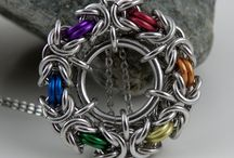 Chainmaille halsband