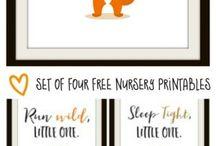 nursery room printables