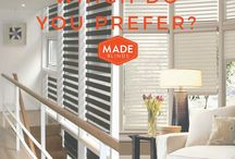 Blinds || Made Blinds / View our various DIY blind collection to adorn your house with the perfect addition of blinds to fit your decor needs.
