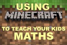 Maths using Minecraft