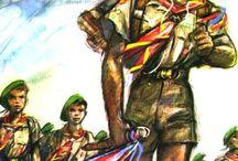 Raiders / Michel Menu vise l'excellence avec les Raiders Scouts à partir de 1949