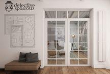 Detective_Sparrow / interior design/ Patrycja Dąbrowska
