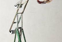 Meccano - lamp