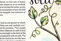 Bible Journaling / by Sherri Raines Brown