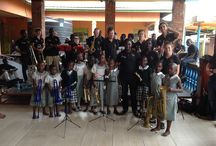 RBCS Music tour to Uganda with Brass for Africa