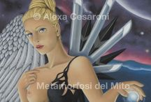 Metamorfosi del Mito - Soft Pastel Woman Portraits