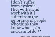 DYSLEXIA ADULT RESOURCES / Support and information about Dyslexia mostly for adults.  Maybe you are like me and it took you most of your adult life trying to understand why you are different....can't spell but can remember the DOB and sun sign of everyone you ever met???  Read why  and the about dyslexia board too. You are not alone and you are likely smarter than the average in the box thinker.