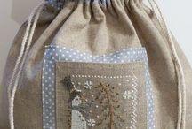 Bolsas, Bolsos, Carteras y demas. / Diseños simples de accesorios en tela, para guardar cositas, ropa interior, para decorar o lucir.