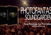 Photofantasm Soundgarden: Nudedragons to King Animal / Photofantasm Soundgarden: Nudedragons to King Animal highlights the Seattle band's rebirth via hundreds of pages' worth of photographs, graphic art, anecdotes, interviews, and reviews. In a truly collaborative effort, fans, artists, musicians, authors, photographers, and other notable personalities all help chronicle Soundgarden's performances across the globe from 2010 to 2013.