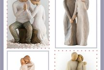 Willow Tree Wedding Cake Toppers