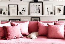 Черно розовый цвет . Идеи