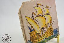 Azulejos cerámica antigua