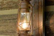 Lamp / Lamps, lighting fixtures, lamps Edison, steampunk, the chandeliers of glass jars, Jack Daniels, DIY lamps