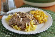 beef dishes / by Dana McCloud Wells